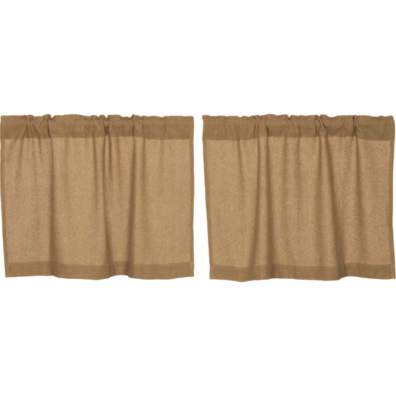 Burlap Natural Tier Set of 2 L24xW36