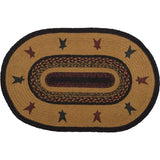 Heritage Farms Star Jute Rug Oval 20x30