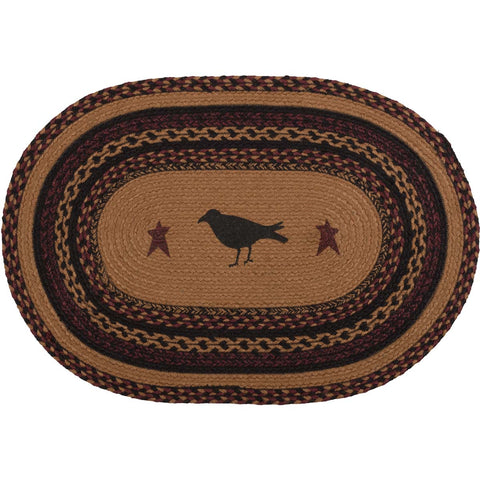 Heritage Farms Crow Jute Rug Oval 20x30