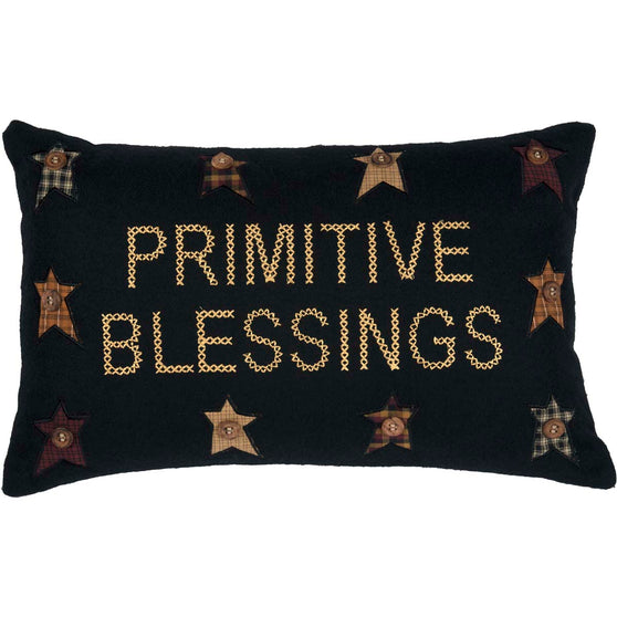 Primitive Blessings Pillow 14x22