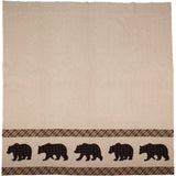 Wyatt Bear Shower Curtain 72x72