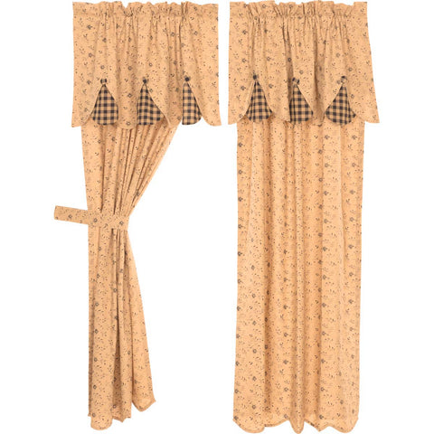 Maisie Short Panel Set of 2 63x36