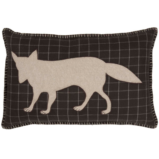 Wyatt Fox Applique Pillow 14x22