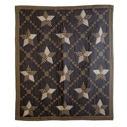 Bedding FarmhouseStar Patchwork & Quilted Throws VHC-Brands