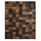 Bedding PatrioticPatch Patchwork & Quilted Throws VHC-Brands