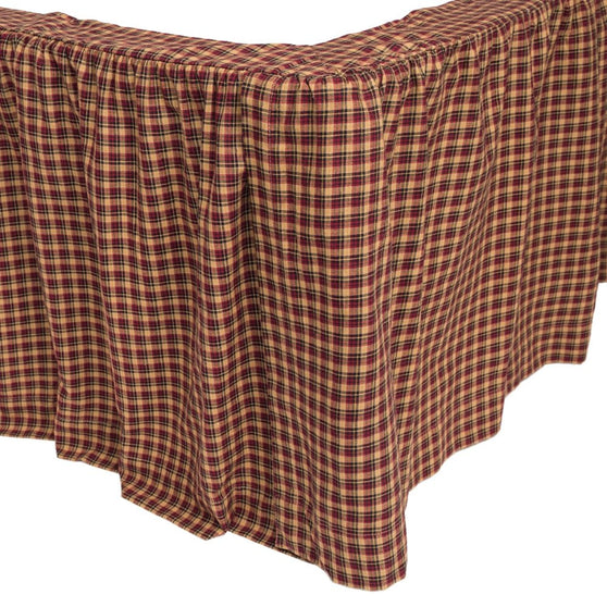Bedding PatrioticPatch Bed Skirts VHC-Brands