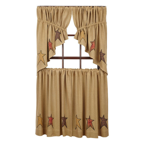 Window Stratton Prairie Swags & Prairie Curtains VHC-Brands