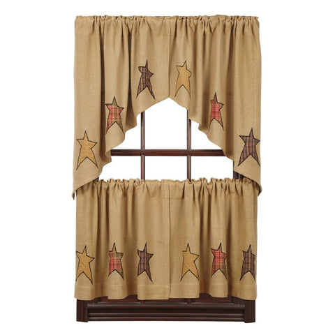 Window Stratton Swags & Tiers VHC-Brands