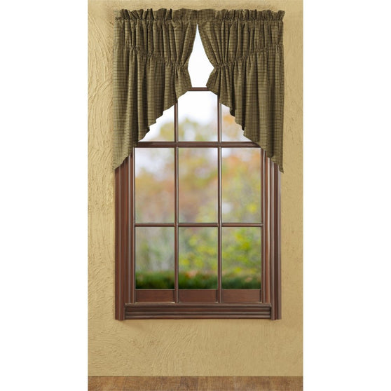 Window TeaCabin Prairie Swags & Prairie Curtains VHC-Brands