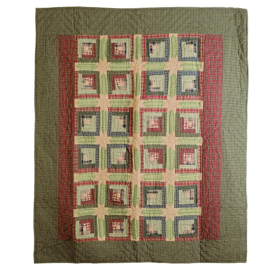 Bedding TeaCabin Patchwork & Quilted Throws VHC-Brands