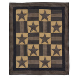 Bedding TetonStar Patchwork & Quilted Throws VHC-Brands