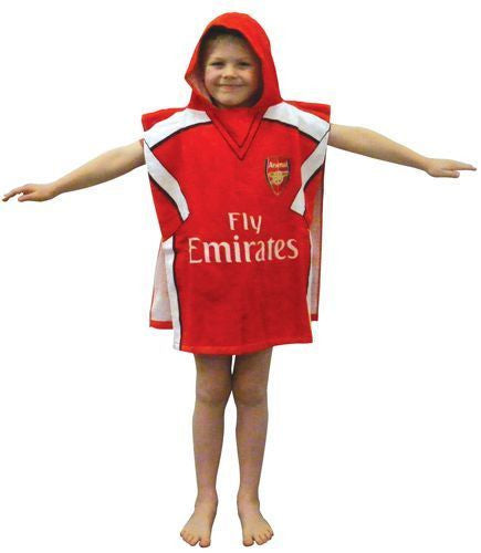 Arsenal Hooded Towel Poncho