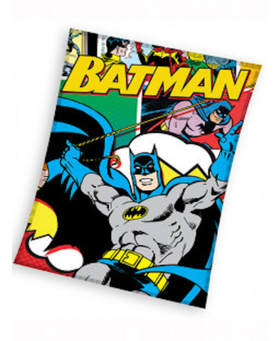 Batman Fleece  Throw / Blanket