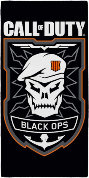 "Call of Duty  'Black Ops"" beach Pool  Towel"