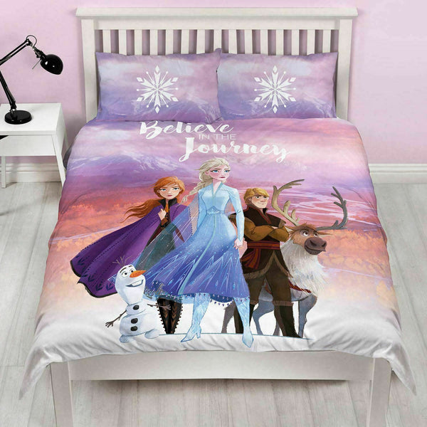 "Disney Frozen 2 ""Journey"" Double/Queen  Quilt"