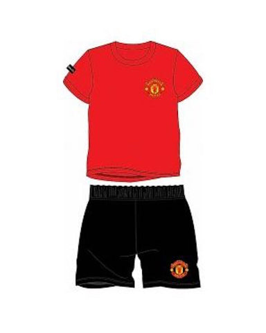 Manchester United Kids Shortie Pyjamas