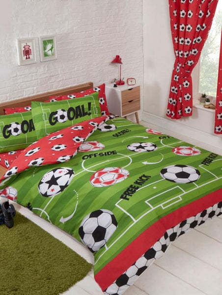 Football Soccer Double Quilt Cover