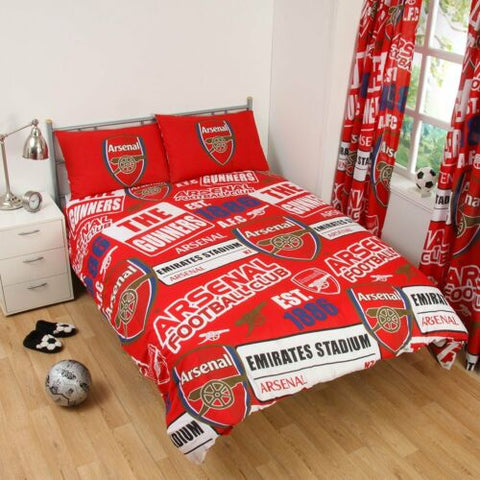 Arsenal  FC Patch  Double/Queen   Quilt cover