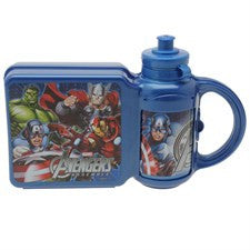 Avengers Lunchbox and Bottle Set