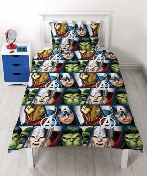 "Marvel Avengers ""Shield"" Single Quilt Cover"