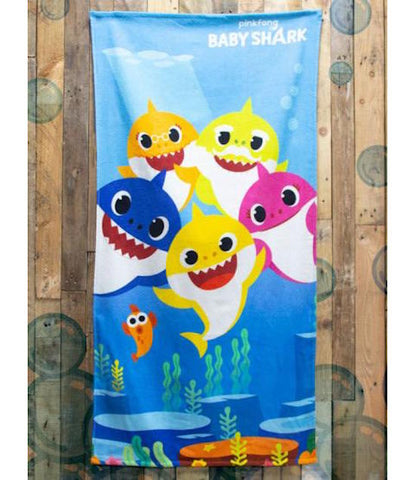 Baby Shark  ~   Bath Beach Towel