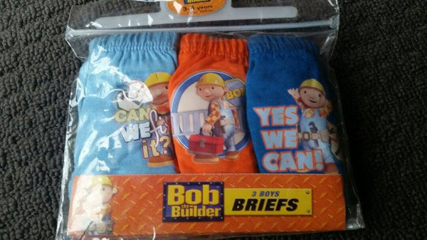 Bob the builder 3 Pack Briefs