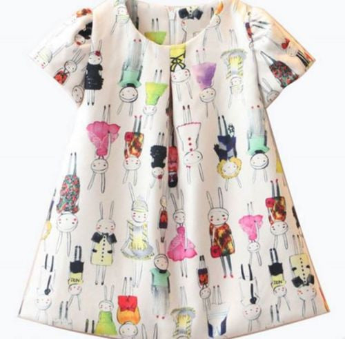 Rabbit Bunny Party Dress