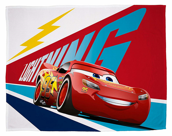 "Cars ""Lightning"" Throw / Blanket"