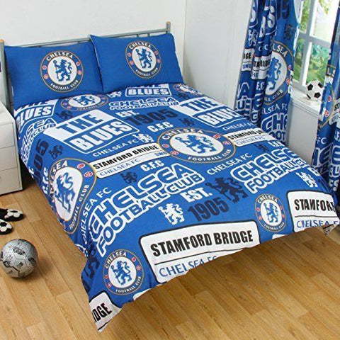 Chelsea FC Patch  Double/Queen   Quilt cover