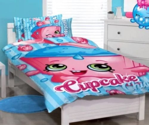 Shopkins Cupcake Single Quilt Cover