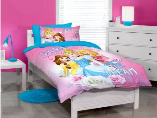 Disney Princess Dreams  Single Quilt Cover