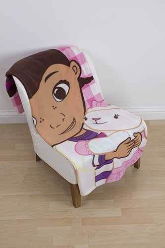 Doc McStuffins Blanket Throw