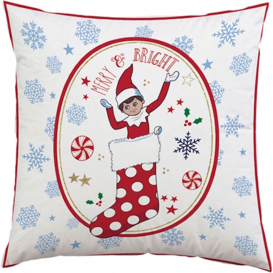 Christmas Elf Cushion, Includes Insert