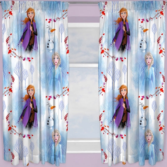 "Frozen ""Element""  Pencil Pleat Curtains"