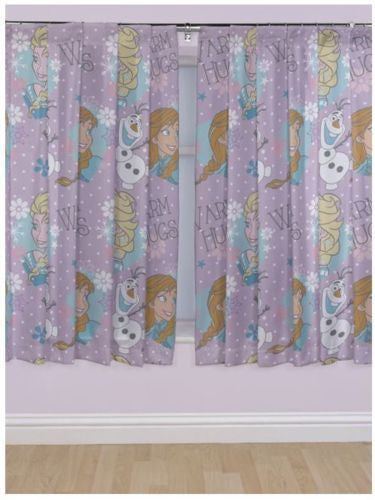 Frozen Lilac Pencil Pleat Curtains