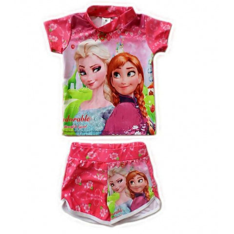 Frozen Rash top and Swim shorts