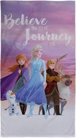 "Disney Frozen 2  *   ""Scapes"" Towel"