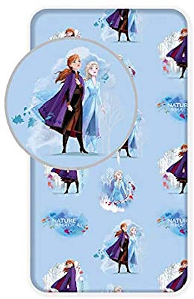 Disney Frozen  Single  Fitted Sheet