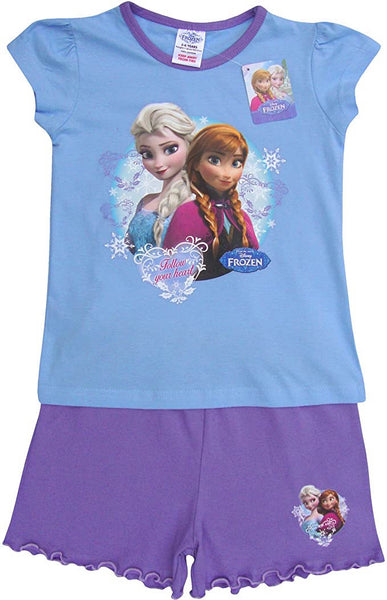 Frozen Summer Shortie Pyjamas