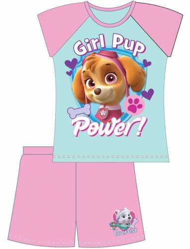 Paw Patrol Girl Pup Power Summer PJs