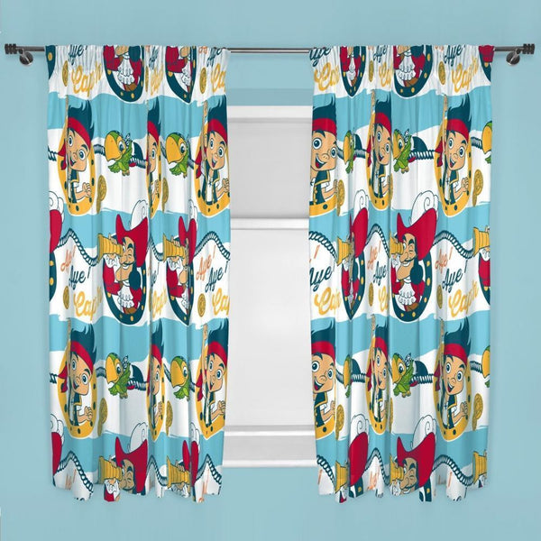 Jake Pirates Curtains 168cm x 137cm