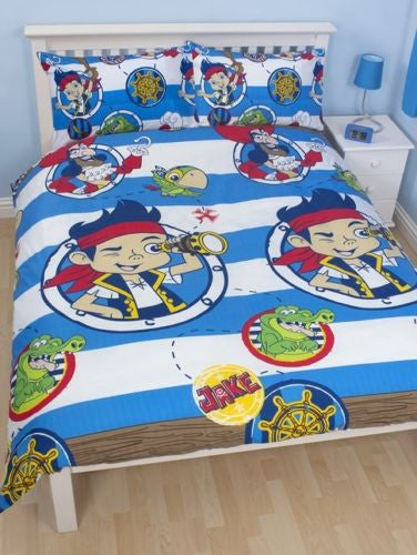 Jake and the Pirates Double Quilt cover