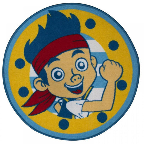 Jake & The Neverlands Pirates Floor Rug