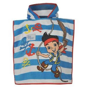 Jake and the Pirate Hooded Towel