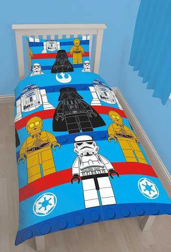 Lego Star wars Single Quilt Cover