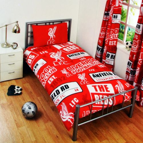 Liverpool  FC  Single  Quilt cover ( Patch)