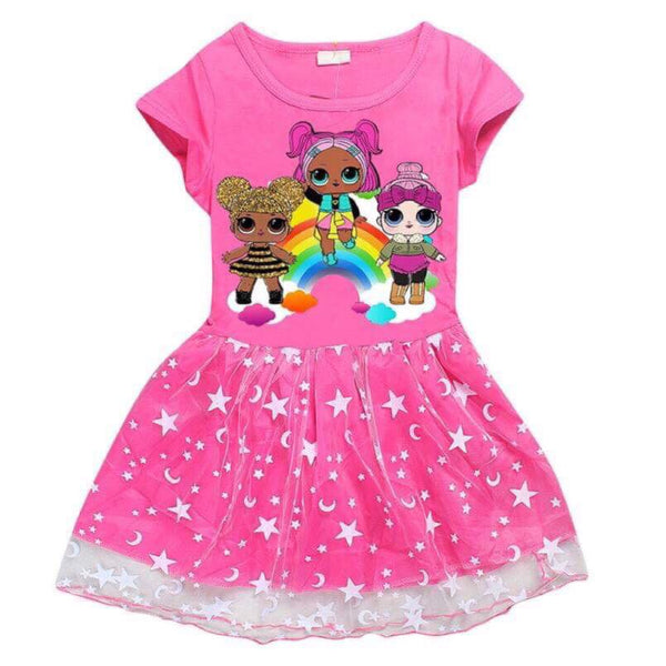 Lol surprise dolls pink dress