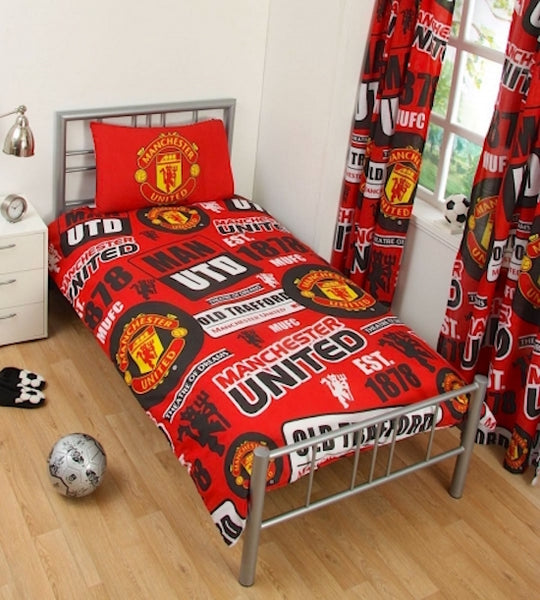 Manchester UTD   FC Patch  Single  Quilt cover