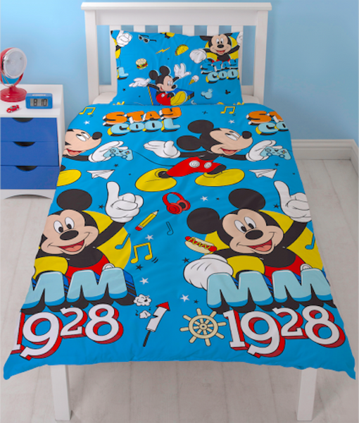 Mickey Mouse 1928 Single Quilt cover