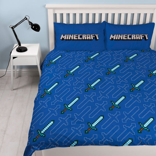 Minecraft Double  Quilt cover